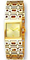 Uhr für Damen in gold