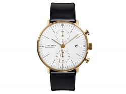Max Bill by Junghans max bill Chronoscope Gold