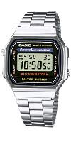 Armbanduhr in silber von Casio