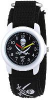 MC Uhr für Kinder mit Piraten